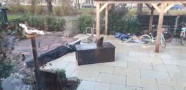 Terrastegel & Tuintegel Vorstvrij Outdoor Leisteen 90x60x2,5 cm ruw Prijs per m2