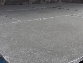 Vloertegel  en Terrastegel Vorstvrij Outdoor Leisteen Kasteel Grey 90x60x2,5 cm ruw  Prijs per m2