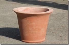 Potten:  Vaso Pape M 1320  hoog 40 cm