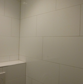 Wandtegel Glans Wit 500x250x9 mm softline glanzend Prijs per m2