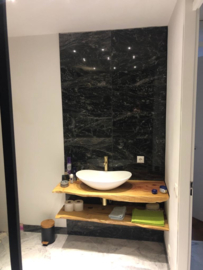 Vloertegel en Wandtegel marmer Black Forest 610x305x10 mm glanzend Prijs per m2