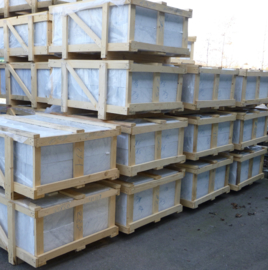 Vloertegel marmer Bianco Carrara C Super wit 400x200x20 mm mat gezoet Prijs per m2