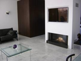 Vloertegel marmer Carrara Venato grijs wit 400x400x15 mm mat gezoet Prijs per m2