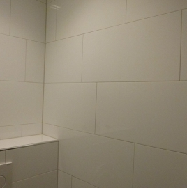 Wandtegel Glans Wit 600x300x9 mm strak gerectificeerd glanzend Prijs per m2