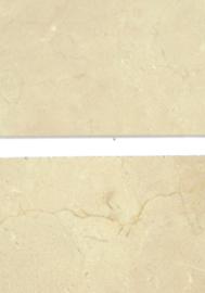 PARTIJ 38 m2 Wandtegel marmer Crema Marfilsa créme 305x305x10 mm glanzend Prijs per m2