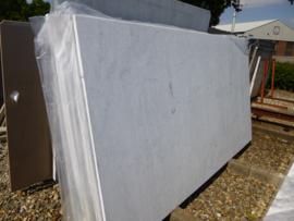 Maatwerk Bianco Carrara  type C in 2 cm dik  296x155 cm
