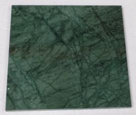 Vloertegel en Wandtegel marmer Verde Mare groen 400x400x15 mm glanzend Prijs per m2