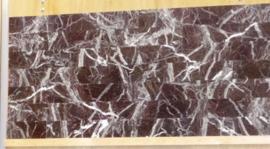 Wandtegel en vloertegel marmer Rosso Levante  305x73x10 mm glanzend VISGRAAT Prijs per m2