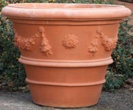 Potten: Vaso Festonato is hoog 100 cm