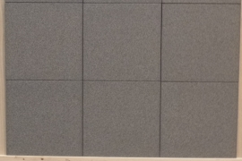 PALLET 65 m2 Black & Salt zwart antracite 30x30x0,8 cm mat Prijs per pallet
