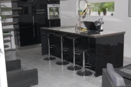 VISGRAAT Vloertegel marmer Bianco Carrara Venato 400x200x15 mm mat gezoet Prijs per m2