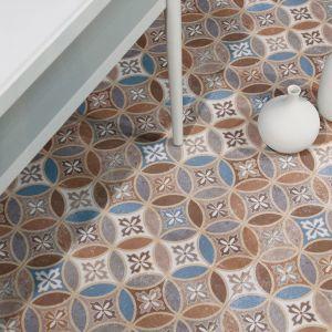 Vloertegel Vecchio Bella 45x45x1 cm mat zijdeglans Prijs per m2