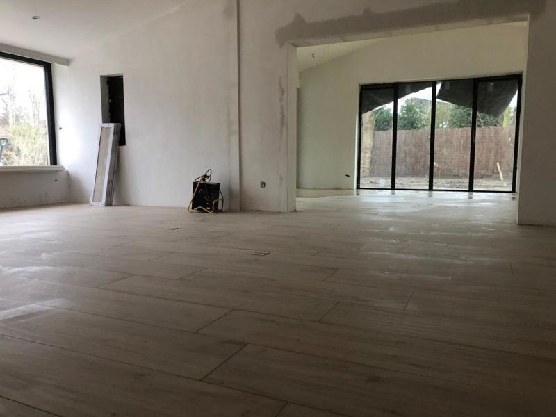 Vloertegel Scheepswerf MIDDEN Eiken kleur bruin geel 1200x300x10 mm mat Prijs per m2