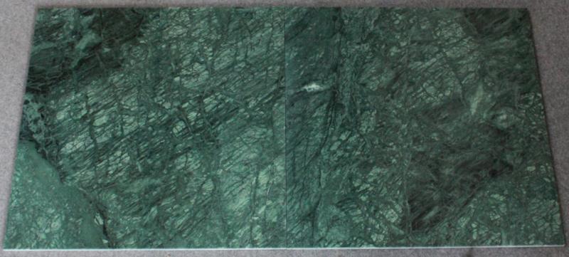 Vloertegel en Wandtegel marmer Verde Mare groen 610x610x10mm glanzend Prijs per m2