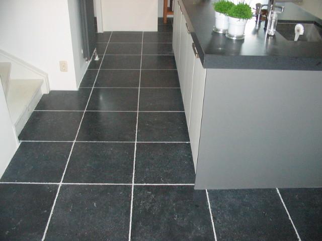 hardsteen tegels in keuken