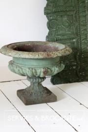 French iron vase