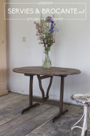 Franse wijn klap tafel