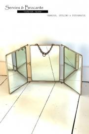 3 luik spiegel Sold