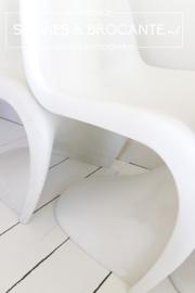 Echte Panton Vitra stoelen