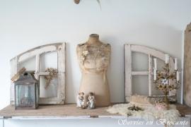 Paar prachtige Franse ramen/ French windows SOLD