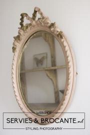 Praachtige Franse Spiegel Sold