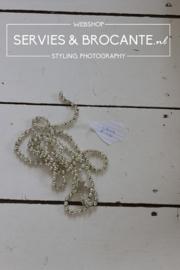 Glass bead garland 170cm