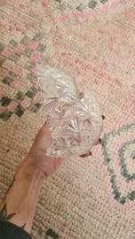 2 glazen schaaltjes