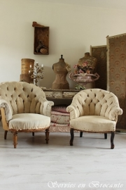 Shabby Stoeltjes/ Shabby chairs SOLD