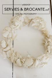Prachtige krans/ kroon Sold