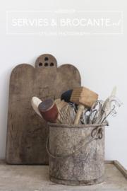 Old painters bucket