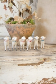 Kerstschaapjes / Christmas sheeps SOLD