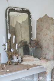 Franse spiegel/ French mirror SOLD