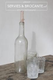 Mondgeblazen fles