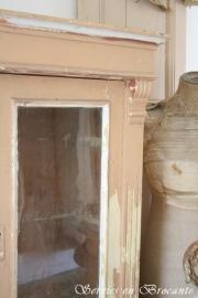 Pastelroze kast/ Pastel pink cabinet SOLD