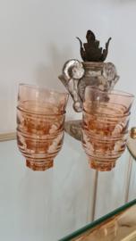 Roze glaasjes