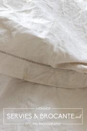 Big linen blanket