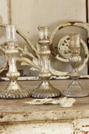 Armeluis zilvere kandelaren SOLD