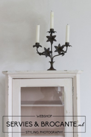 French flower candlestick