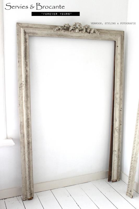 Prachtige lijst/ Wonderfull frame Sold