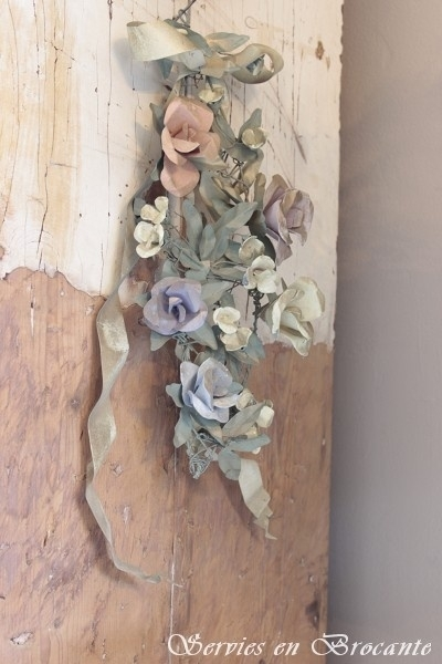 Bloemenornament/ Flower ornament SOLD