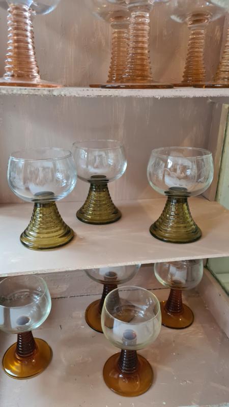 3 glazen