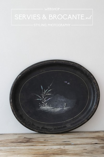 Dienblad parelmoer