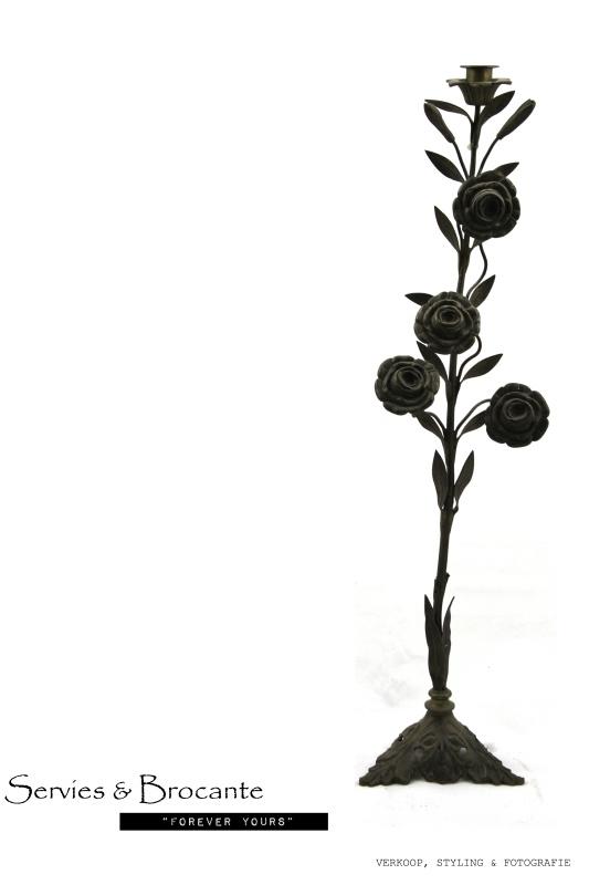 Prachtige kandelaar/ Wonderful candlestick SOLD