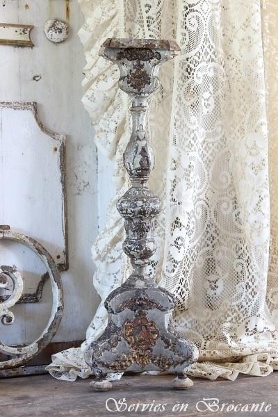 Antieke kandelaar/ Antique Candlestick SOLD