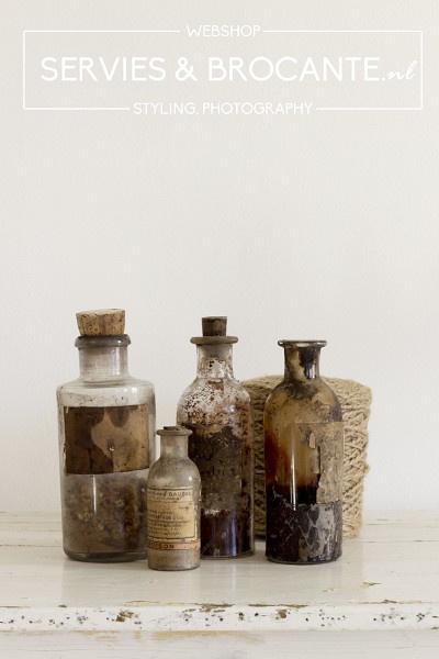 Set flesjes