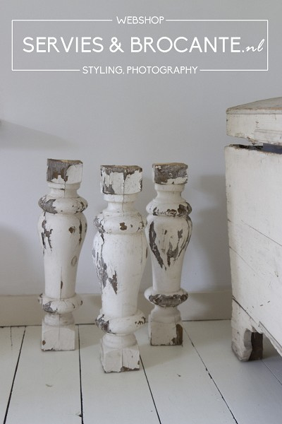 Brocante balusters
