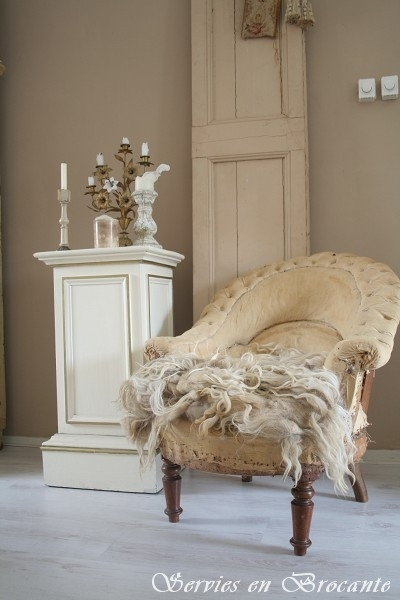 Shabby Fauteuil/ Shabby chair SOLD