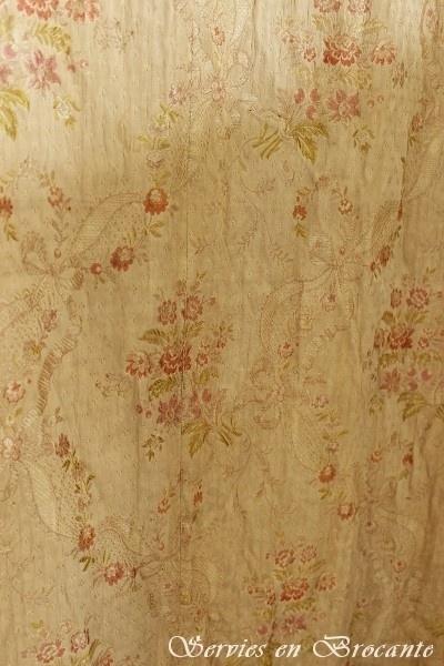 Frans gekleurd gordijn/ French Curtain SOLD