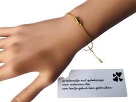 Armband met een geluksvisje