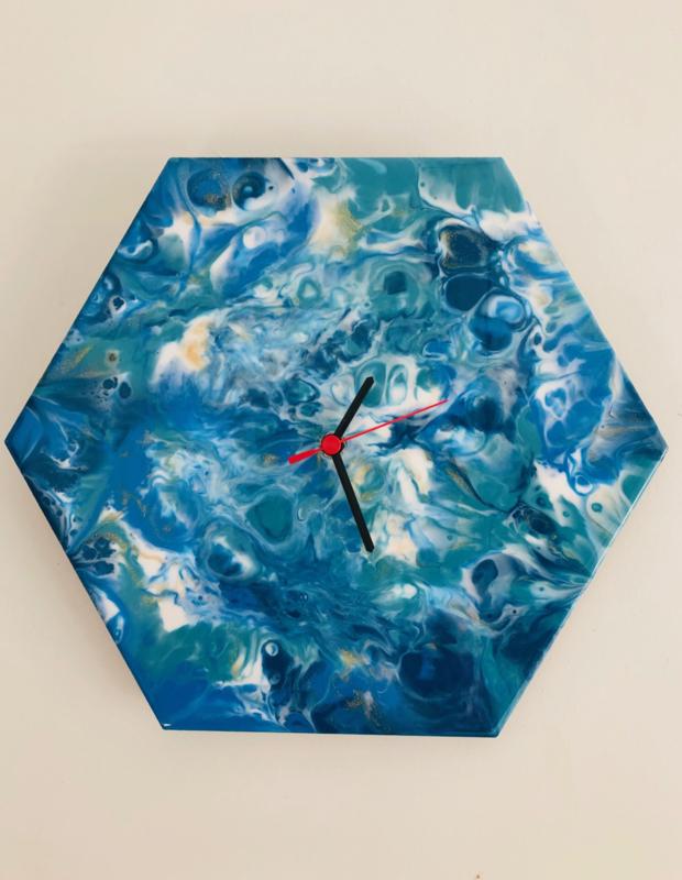 Workshop Resin-Art klok